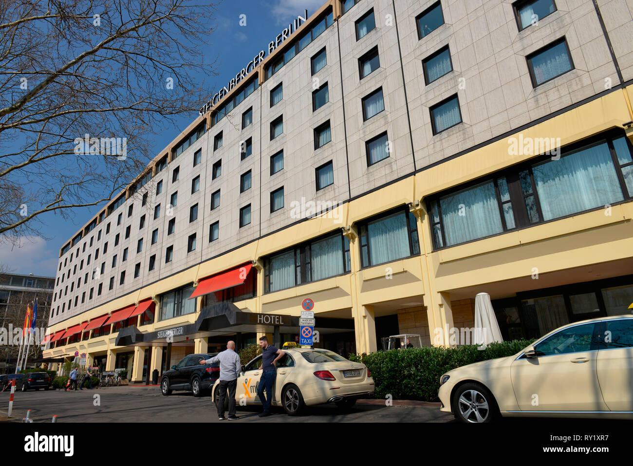 Hotel Steigenberger, Los Angeles Platz, Charlottenburg, Berlin Deutschland - Stock Image