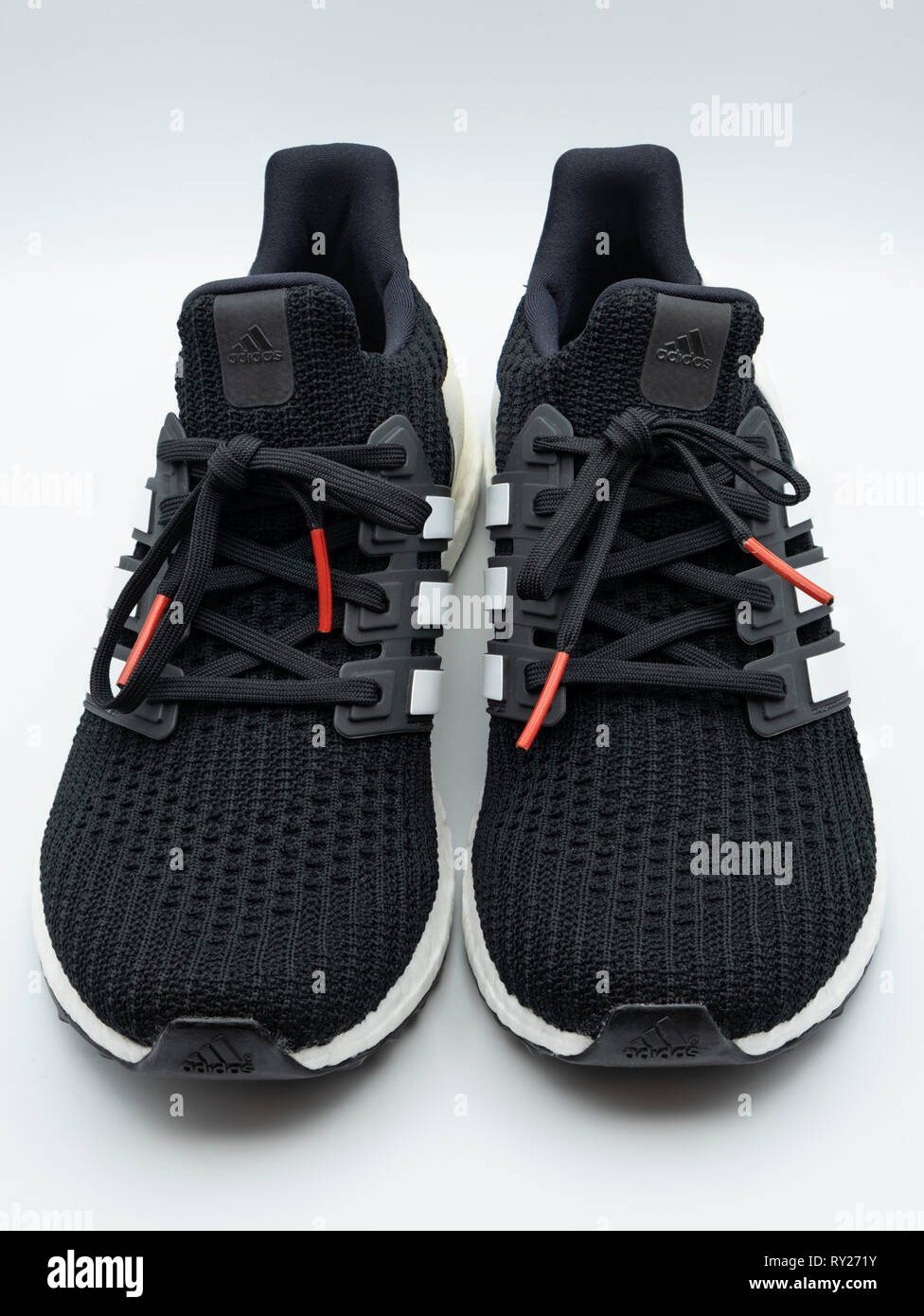 Adidas Ultraboost running shoes - Stock Image