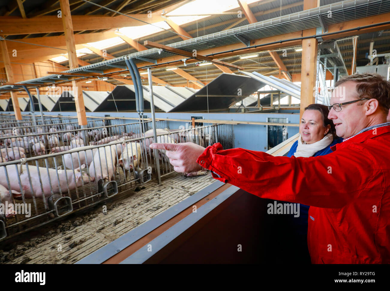 Ense, North Rhine-Westphalia, Germany - Ursula Heinen-Esser, Minister for the Environment, Agriculture, Nature and Consumer Protection of the State of - Stock Image
