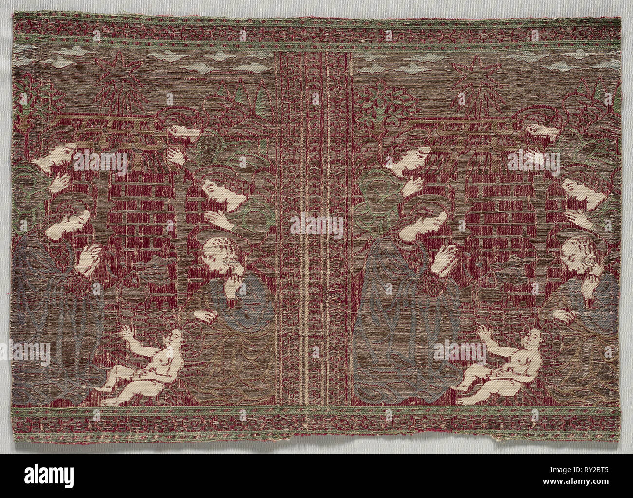 Woven Strip for Ecclesiastical Parameters, early 1500s. Italy, Florence,  early 16th century