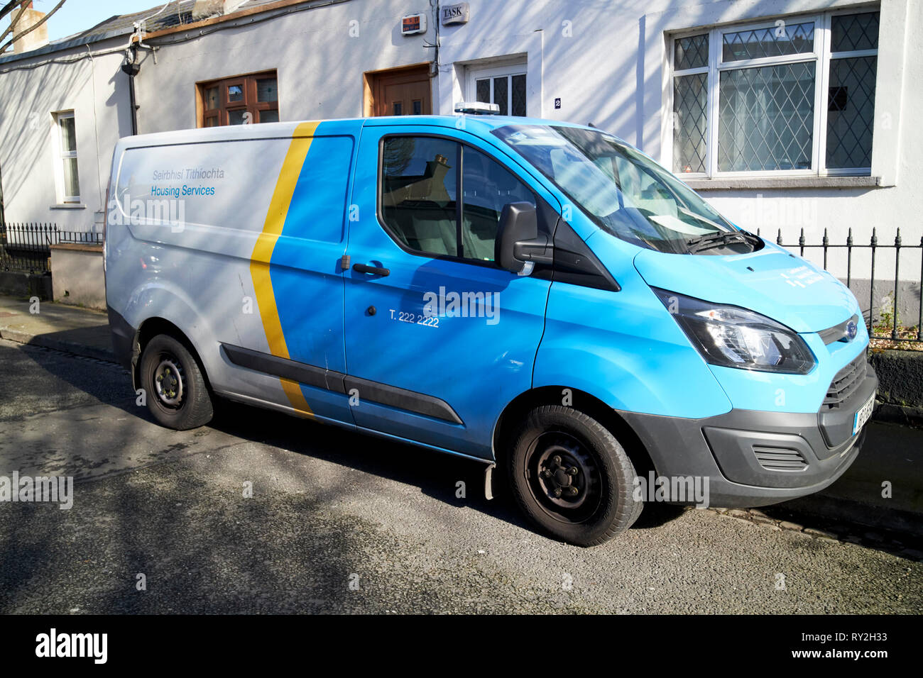 dublin city council housing services service vehicle Dublin Republic of Ireland Europe Stock Photo