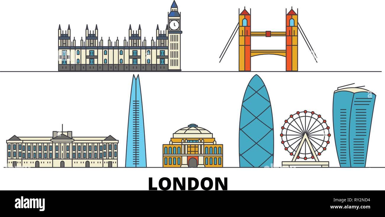 London Vector Map Stock Photos & London Vector Map Stock
