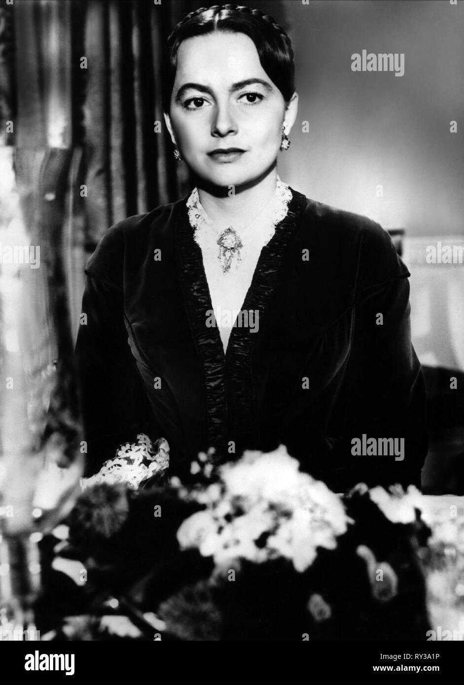 OLIVIA DE HAVILLAND, THE HEIRESS, 1949 - Stock Image