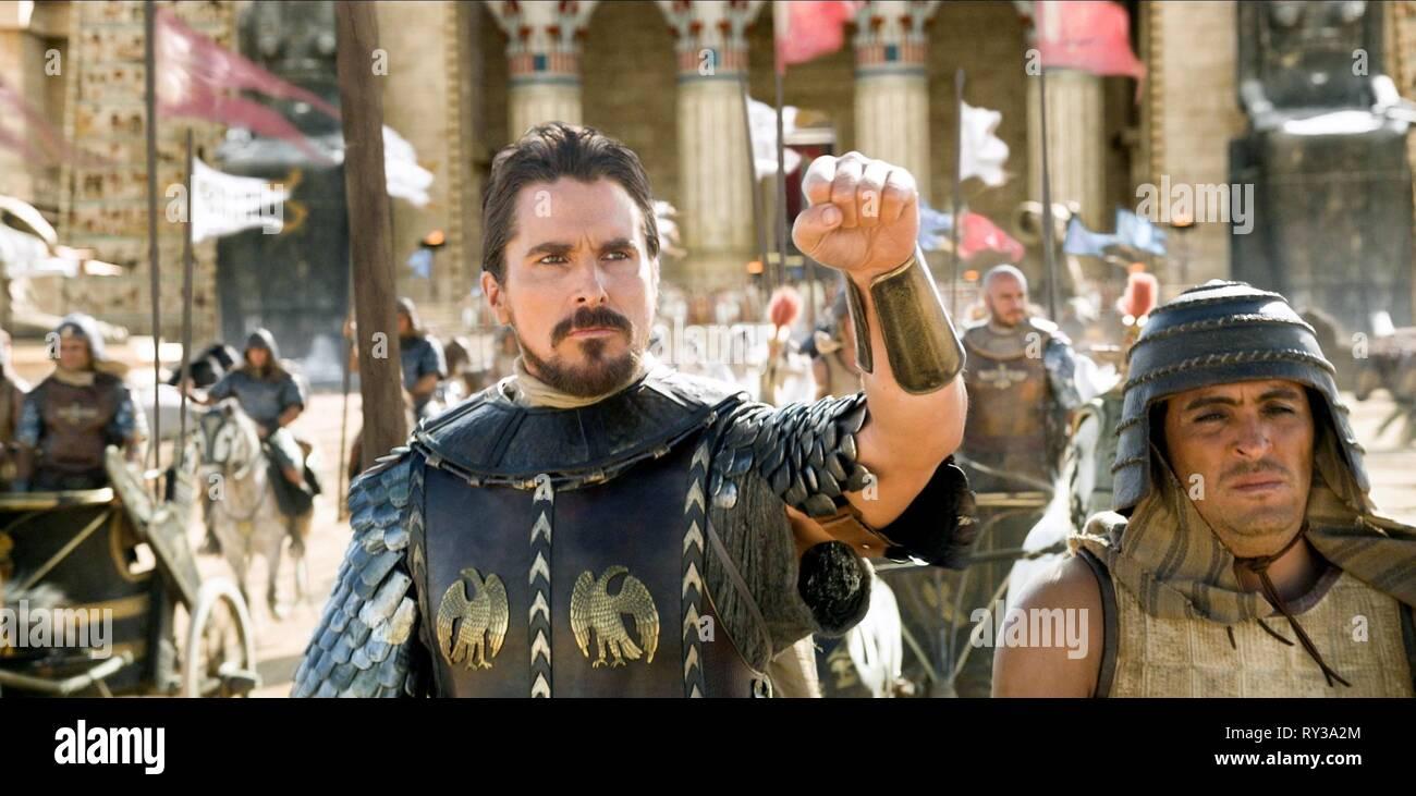 CHRISTIAN BALE, EXODUS: GODS AND KINGS, 2014 - Stock Image
