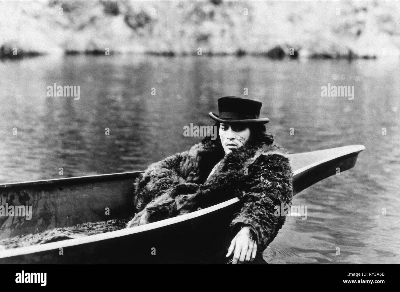JOHNNY DEPP, DEAD MAN, 1995 - Stock Image