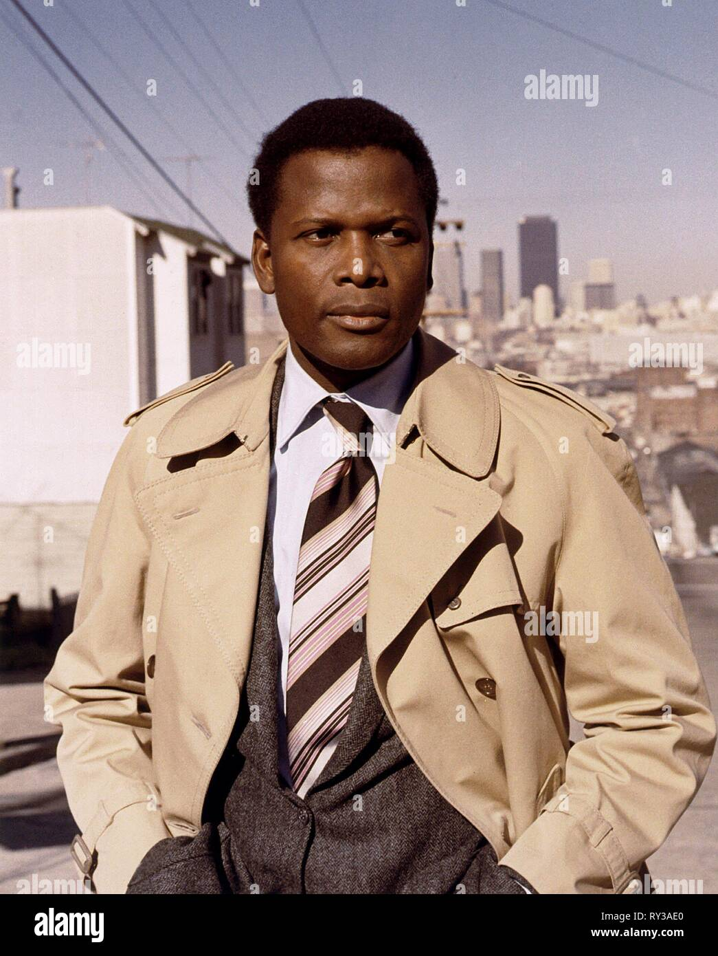 SIDNEY POITIER, THEY CALL ME MISTER TIBBS!, 1970 - Stock Image