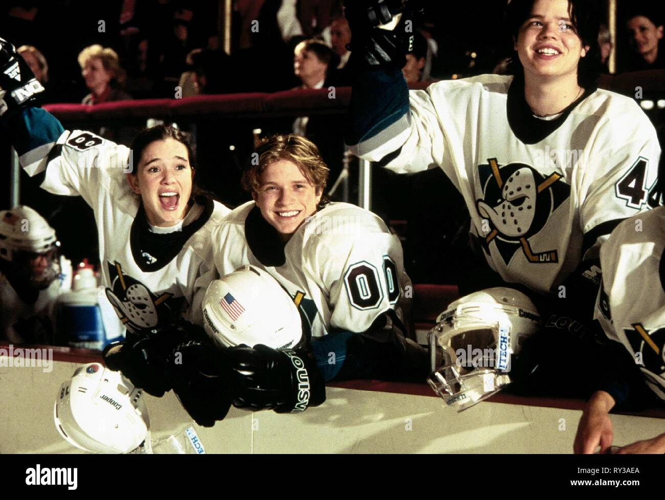 MOREAU,HENSON,HENSON, D3: THE MIGHTY DUCKS, 1996 - Stock Image