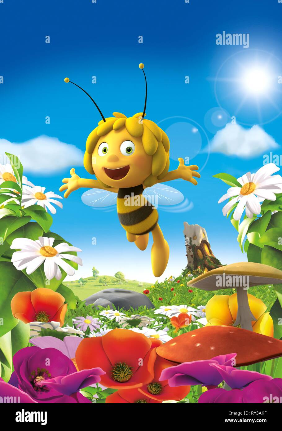 It's just a picture of Lively Maya the Bee Image