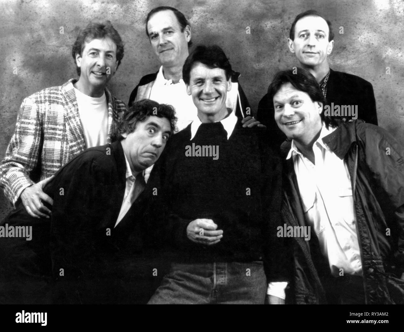 IDLE,CLEESE,CHAPMAN,JONES,PALIN,GILLIAM, TWENTY YEARS OF MONTY PYTHON, 1989 - Stock Image