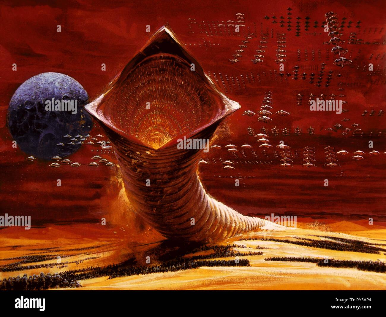 Poster Artwork Dune 1984 Stock Photo Alamy