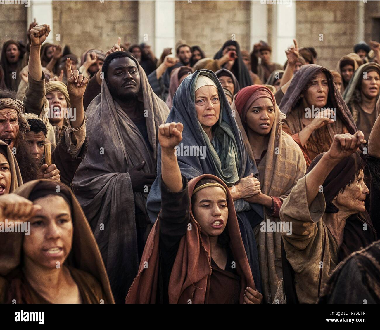 CEESAY,SCACCHI,CHUNG, A.D. THE BIBLE CONTINUES, 2015 - Stock Image