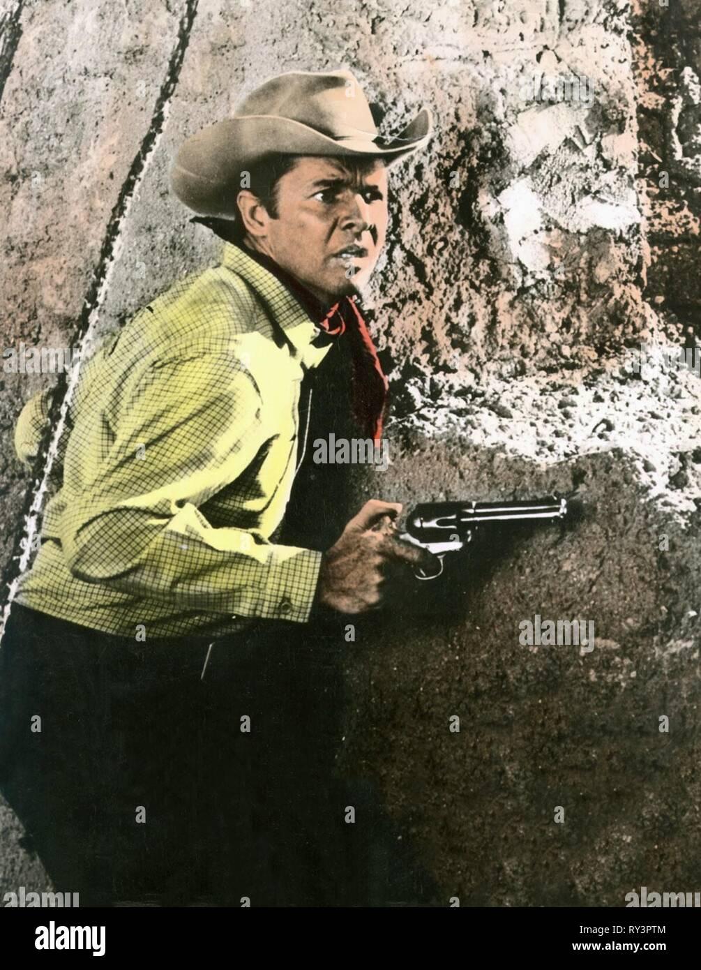 Audie Murphy Arizona Raiders 1965 Stock Photo 240414292