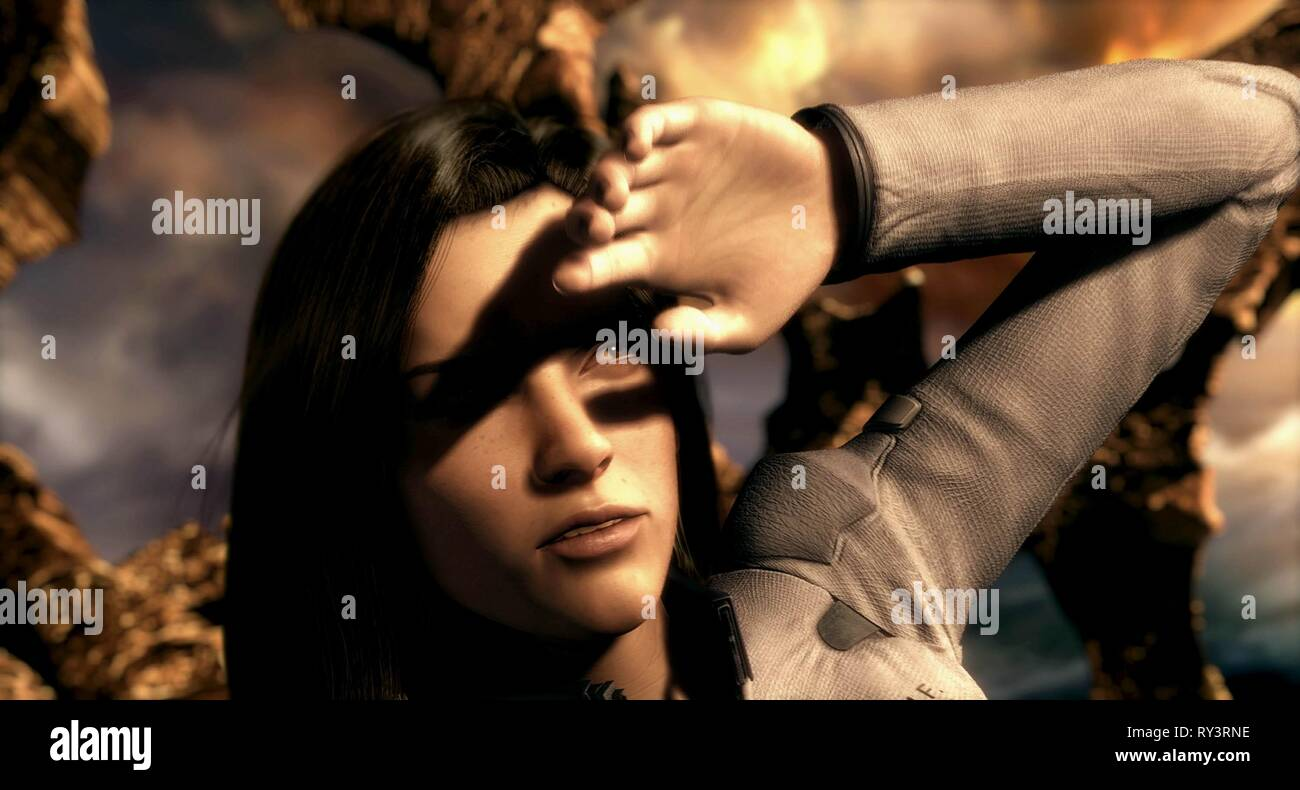 Aki Ross Final Fantasy The Spirits Within 2001 Stock Photo Alamy