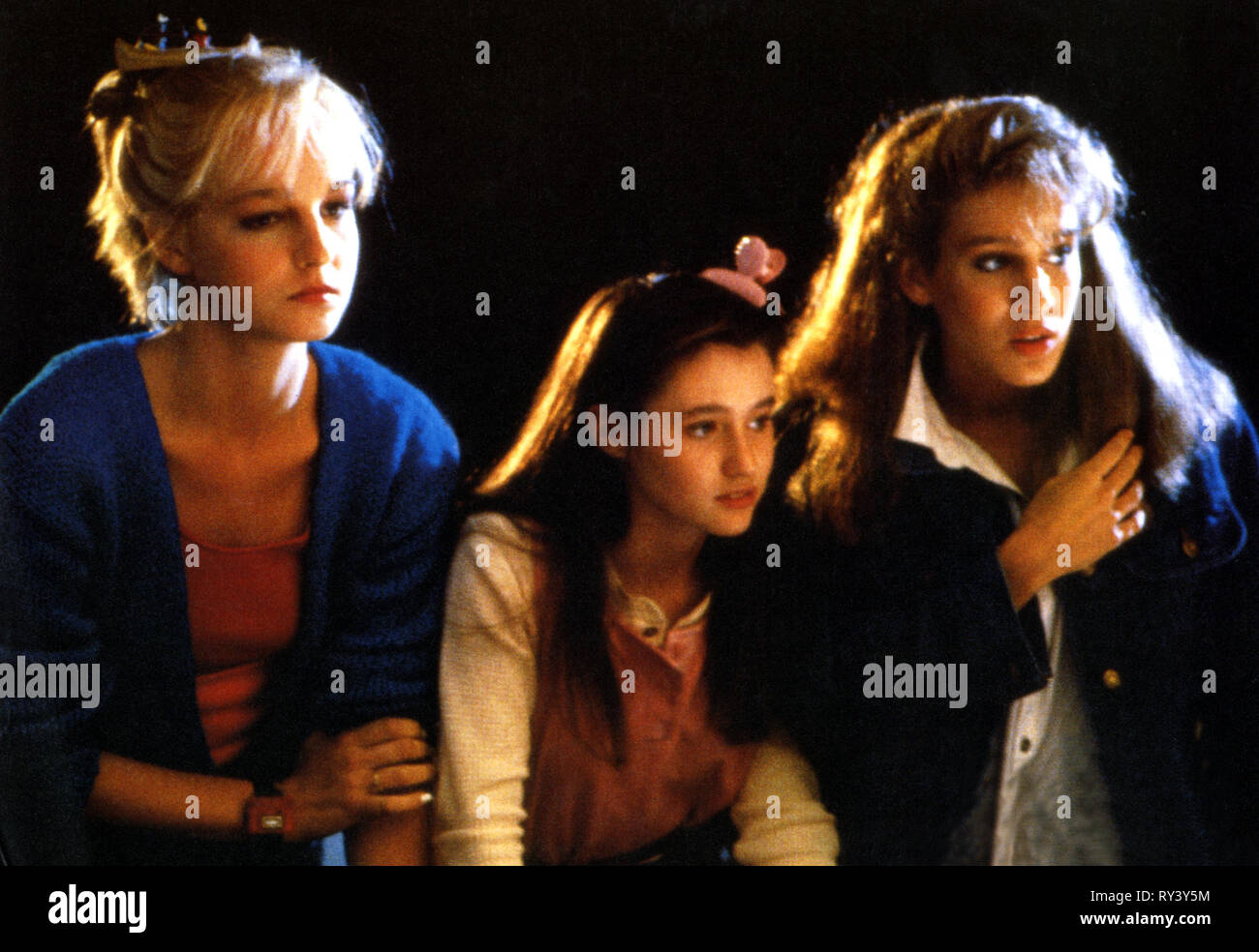 Girls Just Want To hunt,doherty,parker, girls just want to have fun, 1985 stock