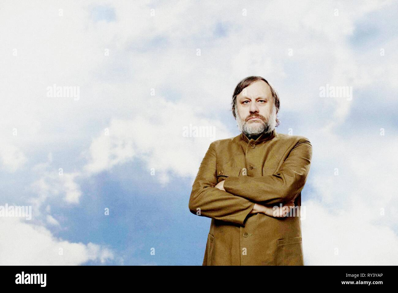 SLAVOJ ZIZEK, THE PERVERT'S GUIDE TO IDEOLOGY, 2012 - Stock Image
