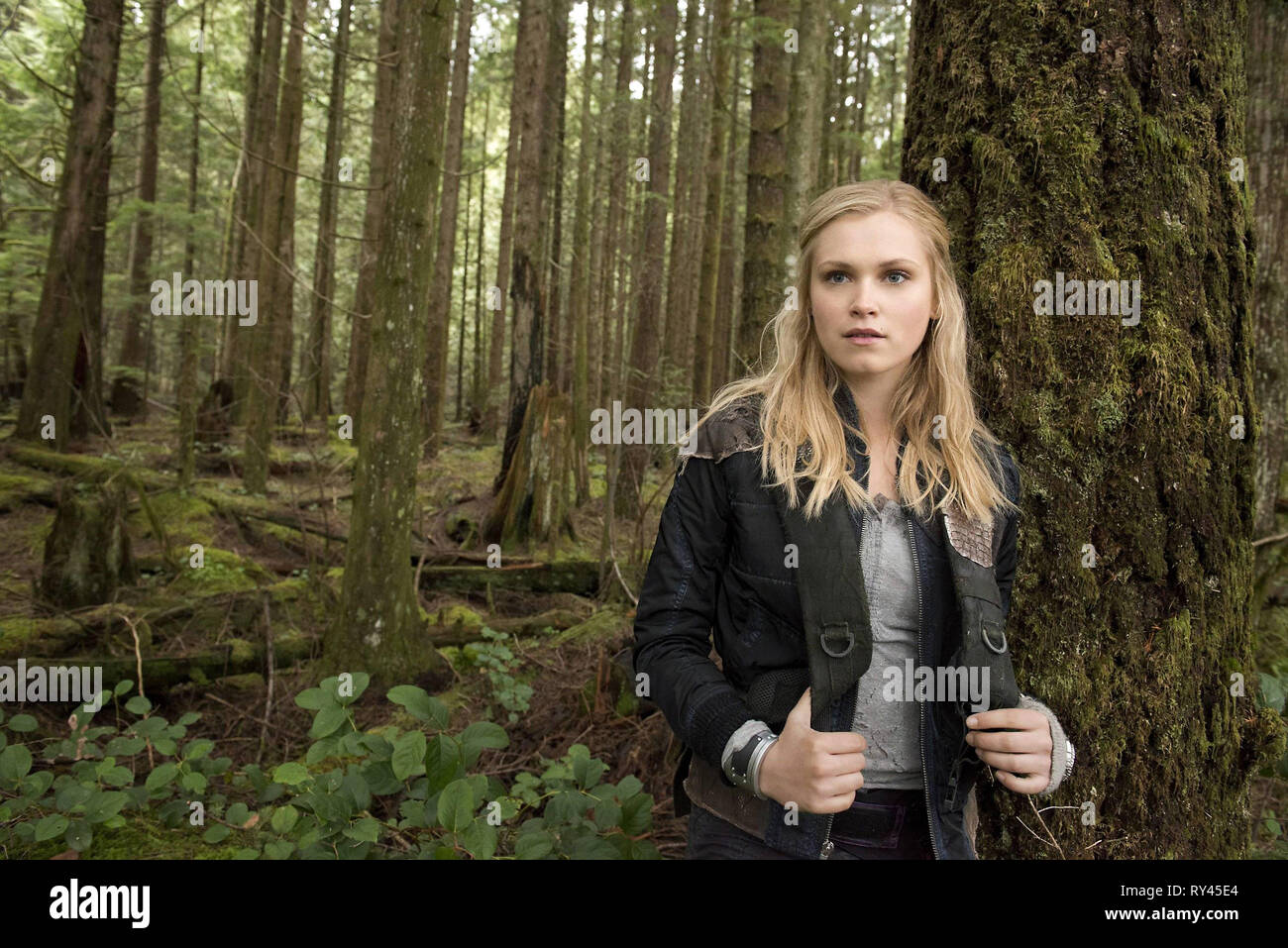 ELIZA TAYLOR, THE HUNDRED, 2014 - Stock Image