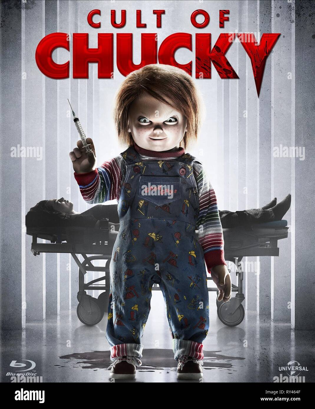 CHUCKY POSTER, CULT OF CHUCKY, 2017 - Stock Image