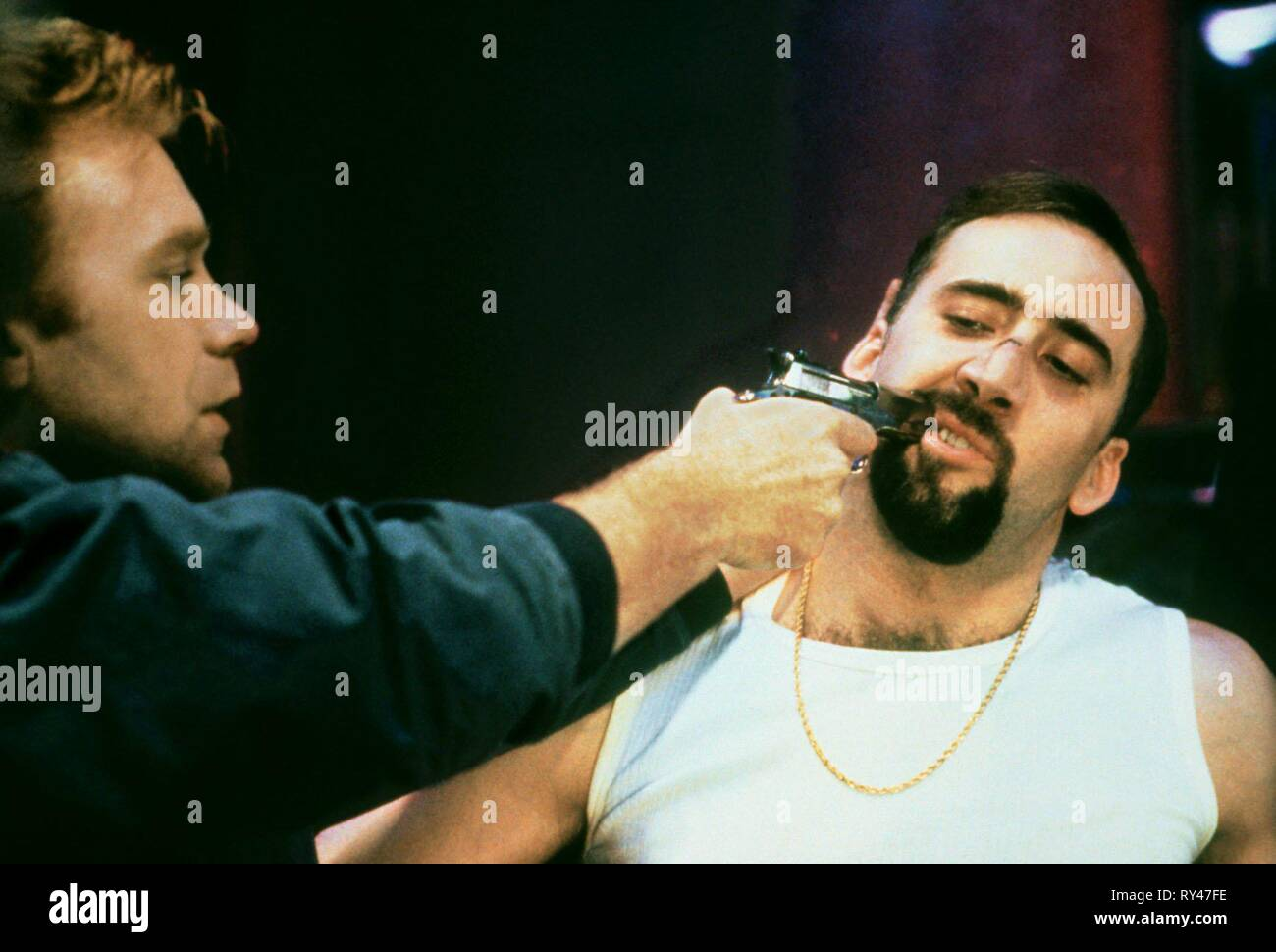 CARUSO,CAGE, KISS OF DEATH, 1995 - Stock Image