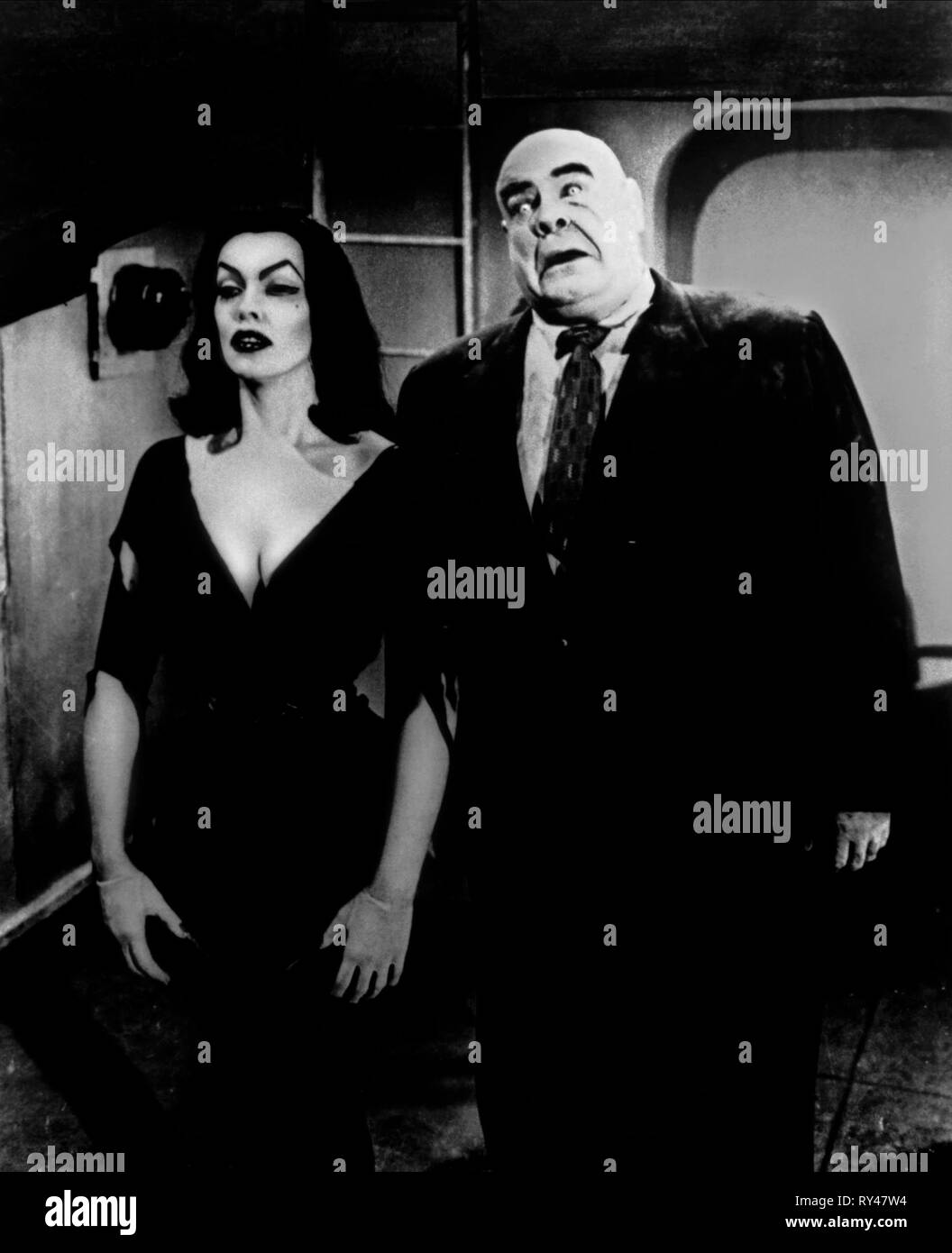 VAMPIRE,WOOD, PLAN 9 FROM OUTER SPACE, 1959 - Stock Image