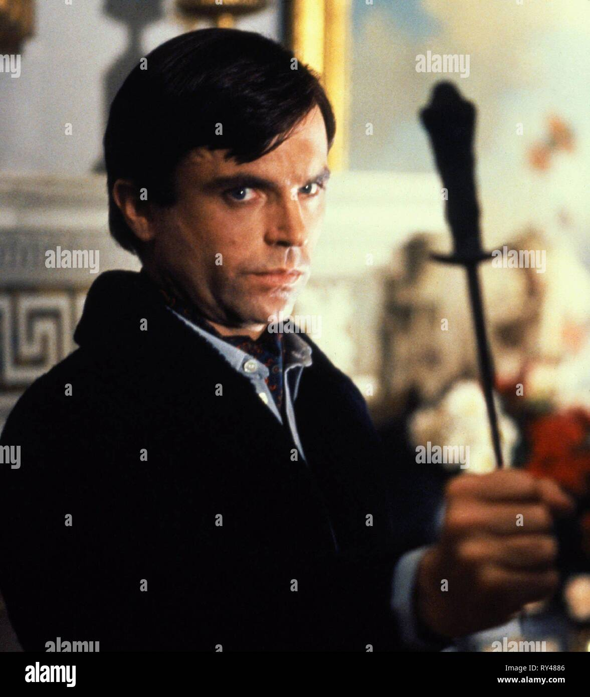 SAM NEILL, THE FINAL CONFLICT, 1981 - Stock Image