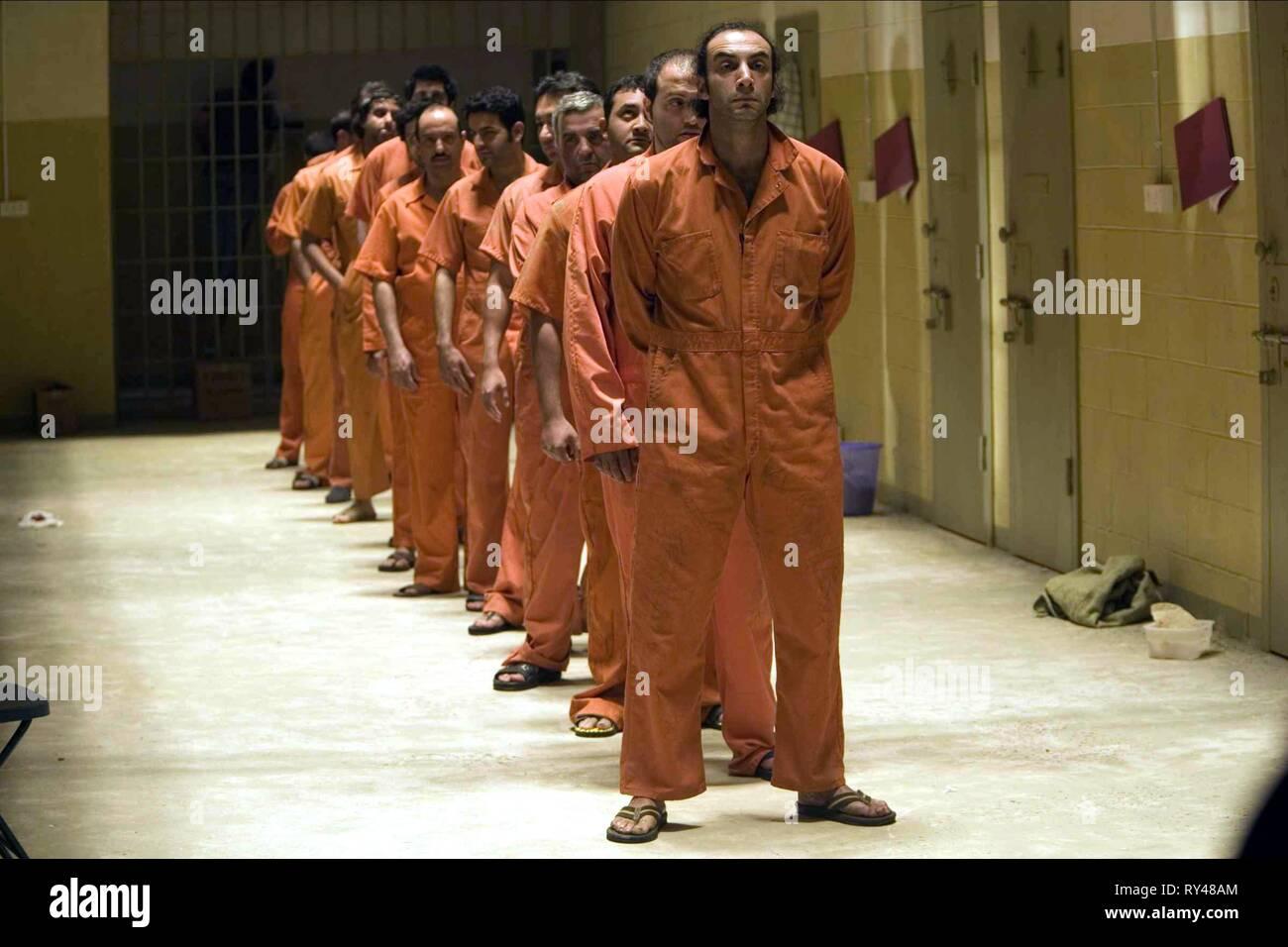 ABU GHRAIB IRAQI PRISON INMATES, STANDARD OPERATING PROCEDURE, 2008 - Stock Image