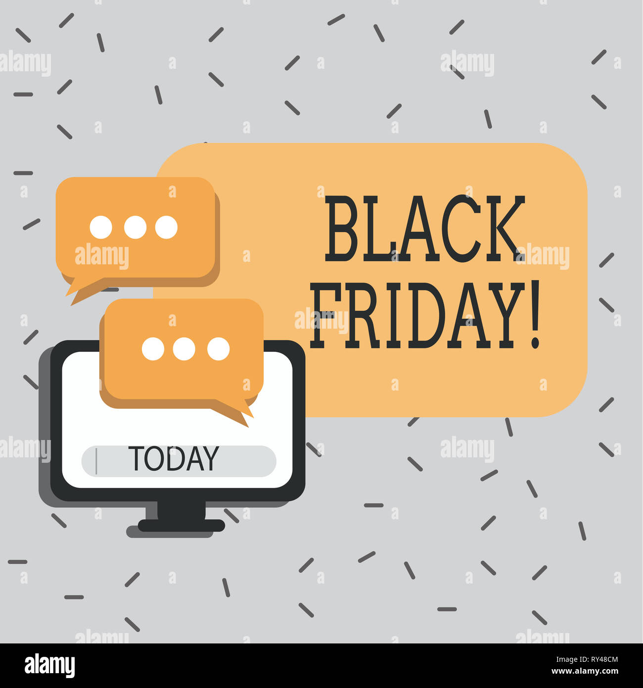 Black Friday Sale Rush Stock Photos & Black Friday Sale Rush