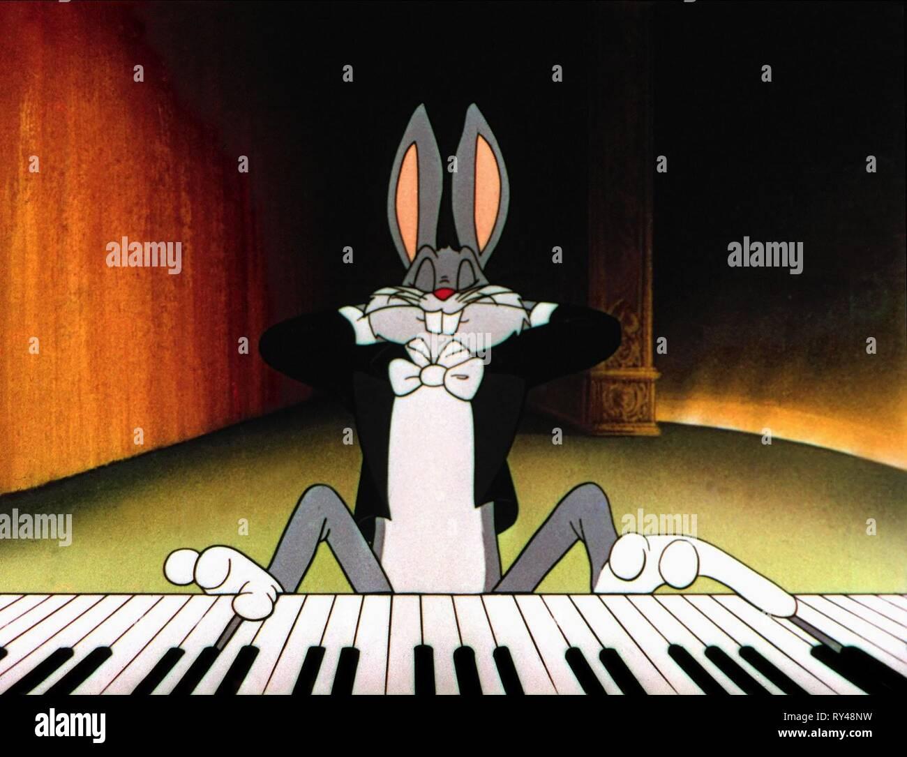 Bugs Bunny Rhapsody Rabbit 1946 Stock Photo 240425189 Alamy