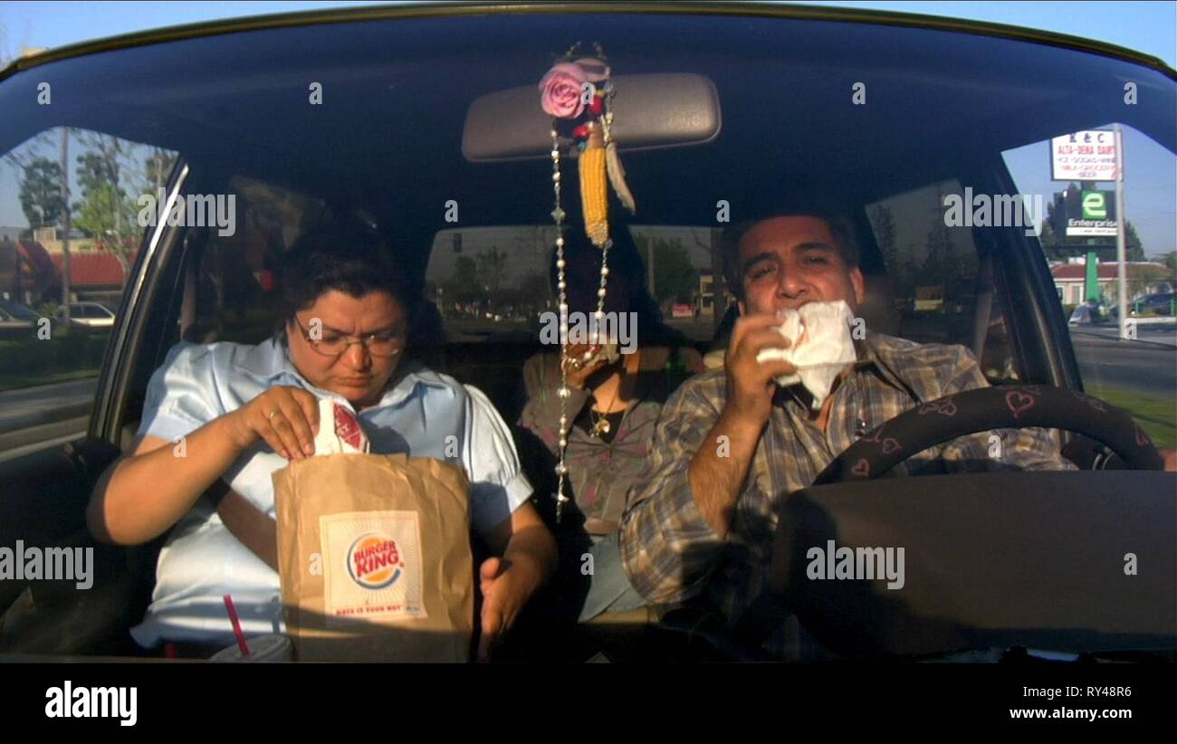FAST FOOD CONSUMERS, FOOD  INC., 2008 - Stock Image
