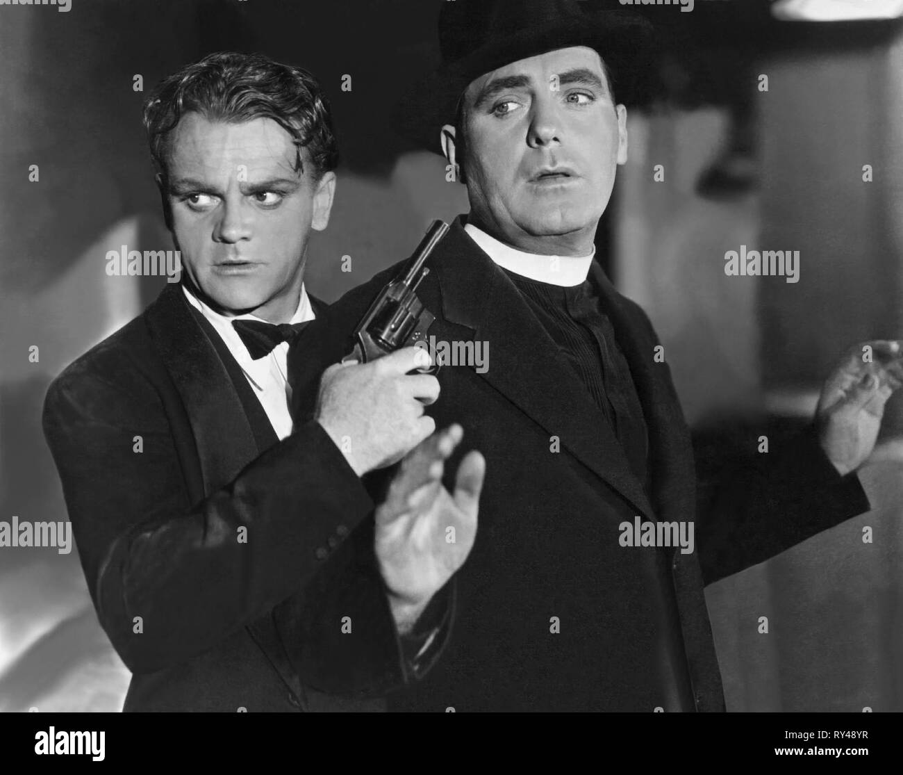 CAGNEY,O'BRIEN, ANGELS WITH DIRTY FACES, 1938 Stock Photo