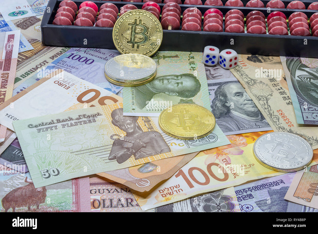 Foreign Currency (Forex) - Investment or Speculation? - Stock Image