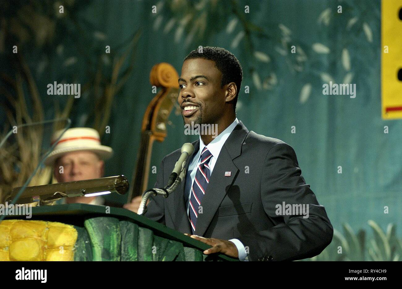 CHRIS ROCK, HEAD OF STATE, 2003 - Stock Image