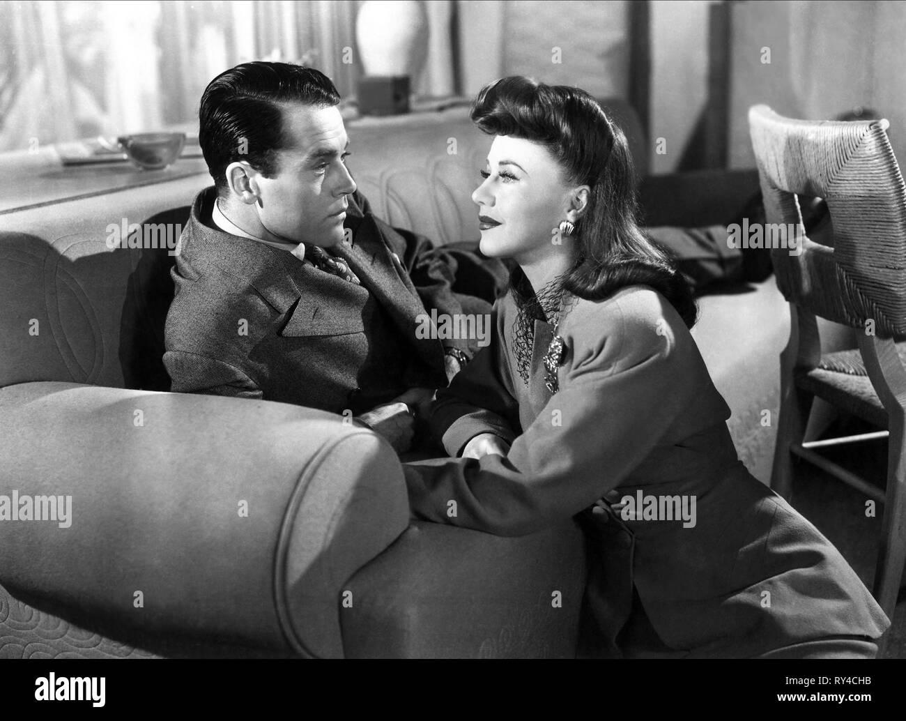 FONDA,ROGERS, TALES OF MANHATTAN, 1942 - Stock Image