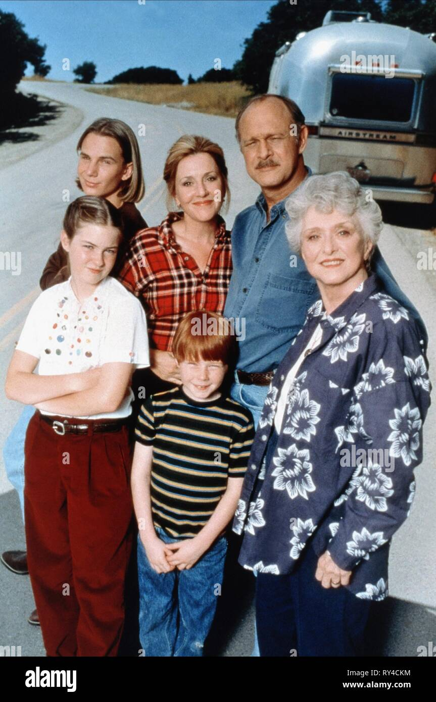 SCHAUB,KARR,HOLM,O'BRIEN,PHILLIPS,MCRANEY, PROMISED LAND, 1996 - Stock Image