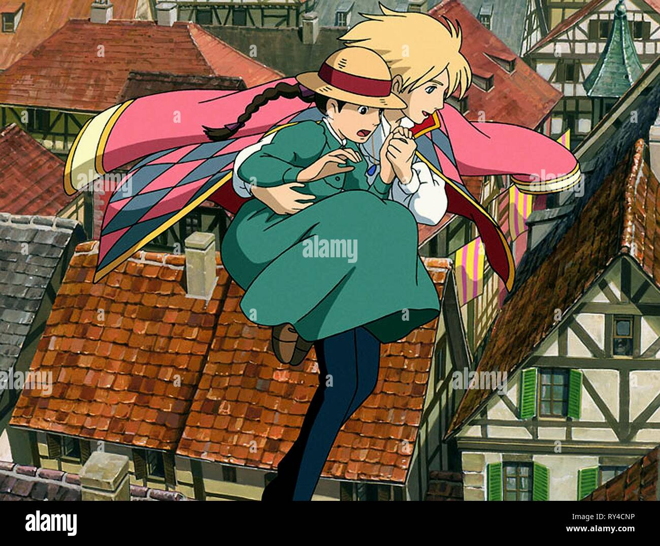 Sophie Howl Howl S Moving Castle 2004 Stock Photo Alamy