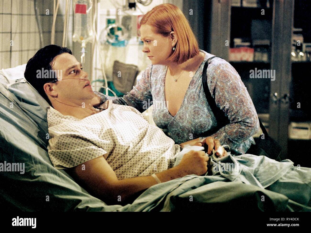 NATHANIEL MARSTON,KATHY BRIER, ONE LIFE TO LIVE, 2003 - Stock Image