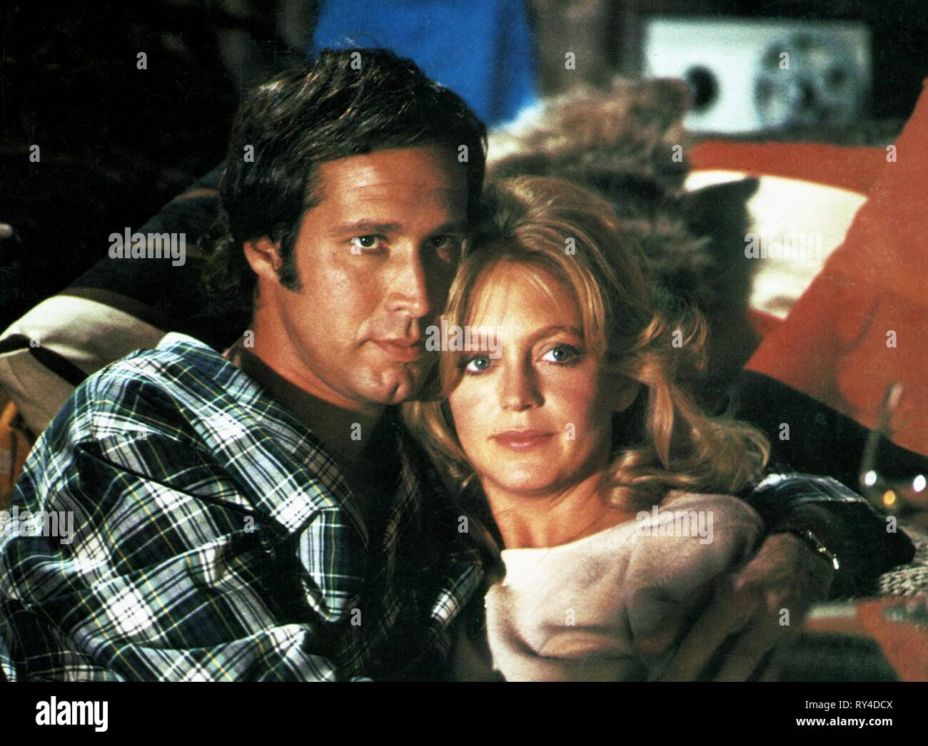 CHASE,HAWN, FOUL PLAY, 1978 Stock Photo