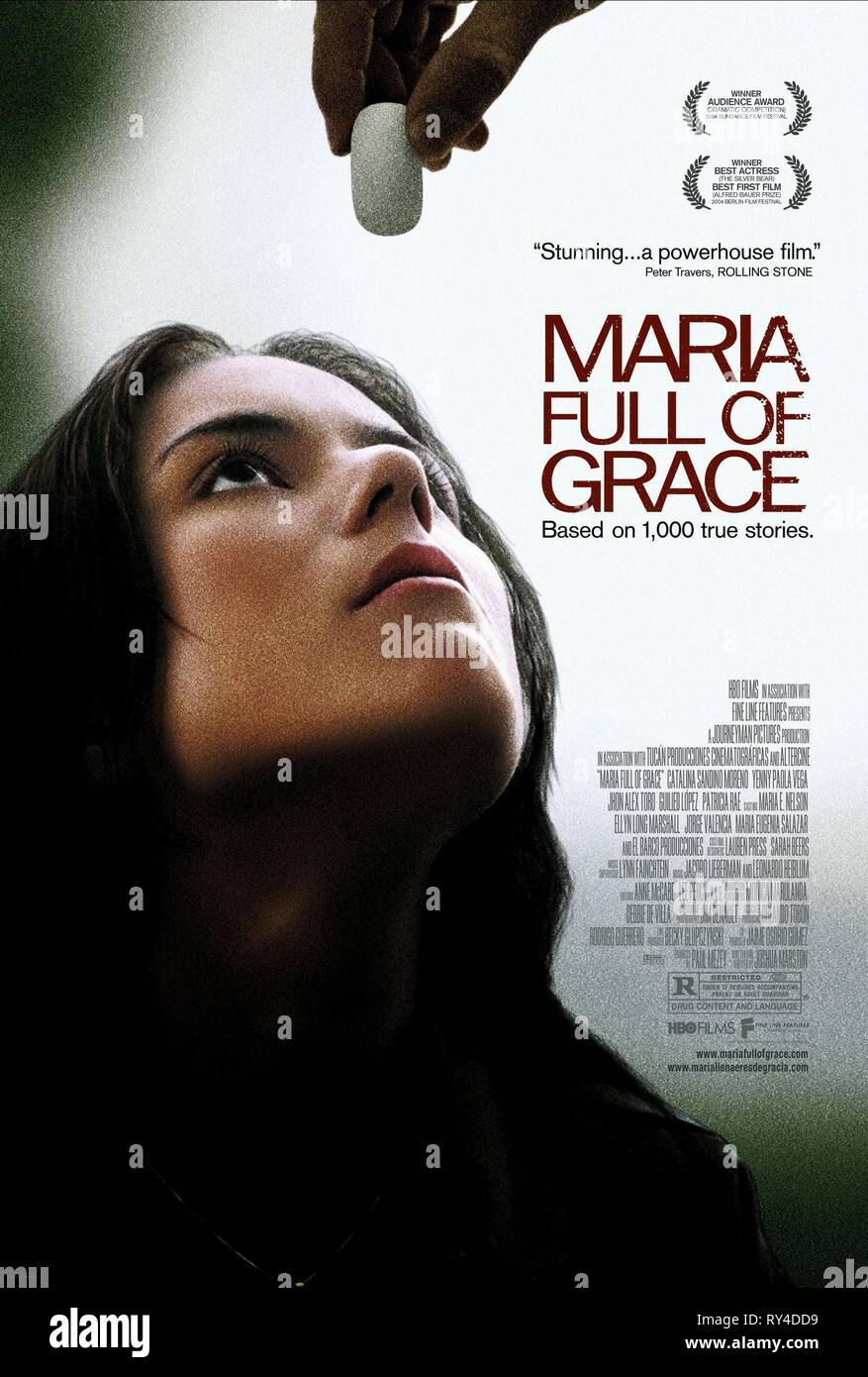 CATALINA SANDINO MORENO, MARIA FULL OF GRACE, 2004 Stock Photo
