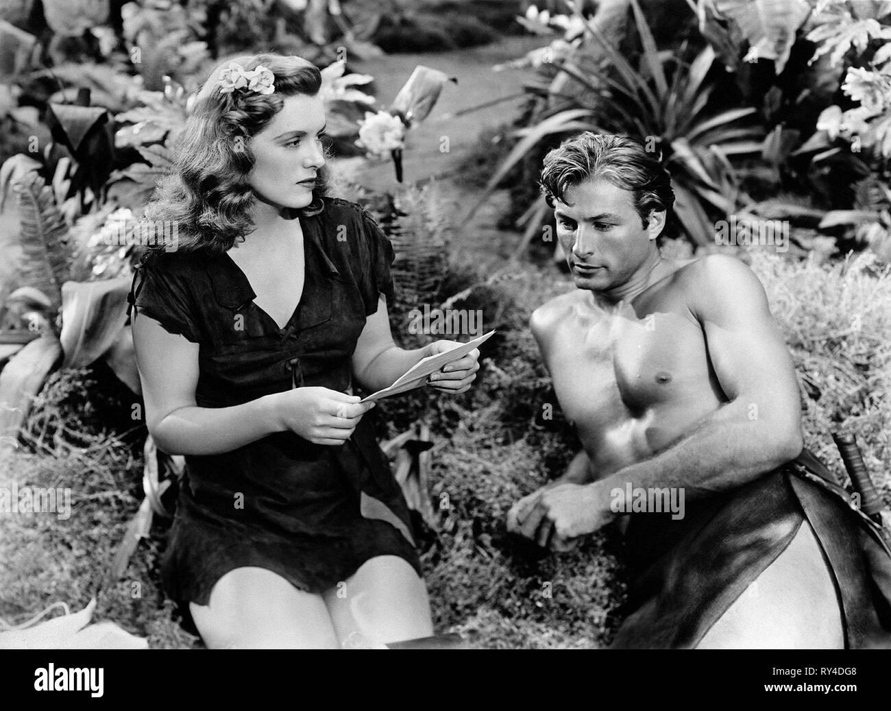 JOYCE,BARKER, TARZAN'S MAGIC FOUNTAIN, 1949 - Stock Image