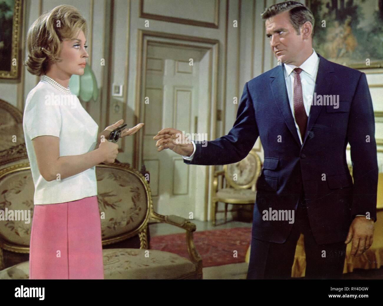 PALMER,TAYLOR, NOBODY RUNS FOREVER, 1968 - Stock Image