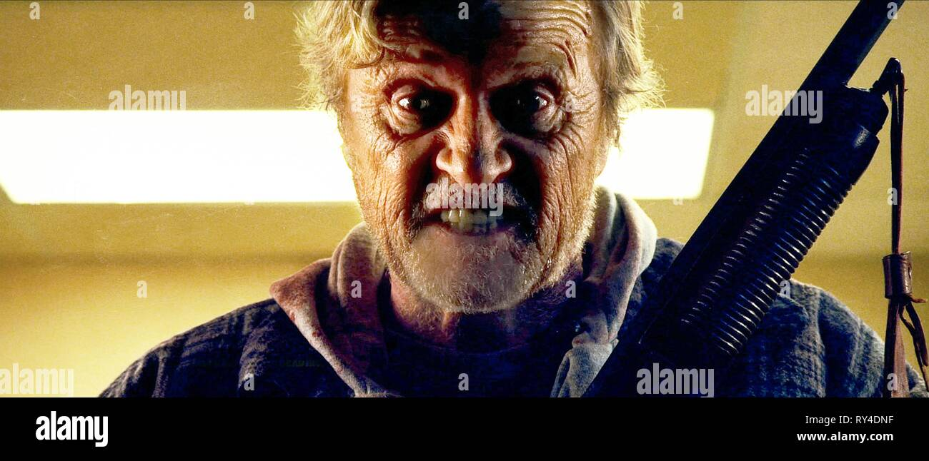 RUTGER HAUER, HOBO WITH A SHOTGUN, 2011 - Stock Image