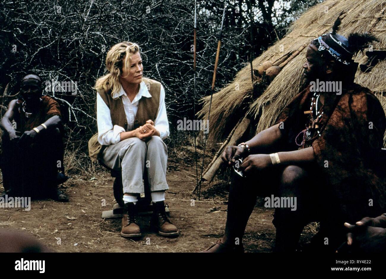 KIM BASINGER, I DREAMED OF AFRICA, 2000 - Stock Image