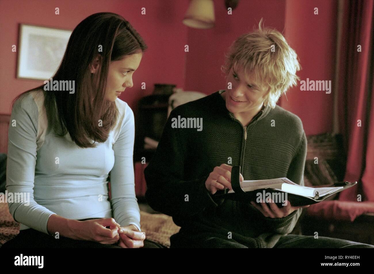 KATIE HOLMES,CHARLIE HUNNAM, ABANDON, 2002 - Stock Image