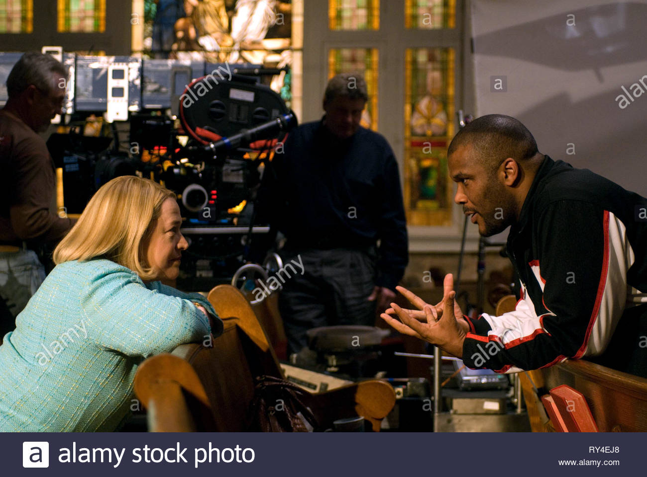 KATHY BATES,TYLER PERRY, THE FAMILY THAT PREYS, 2008 - Stock Image