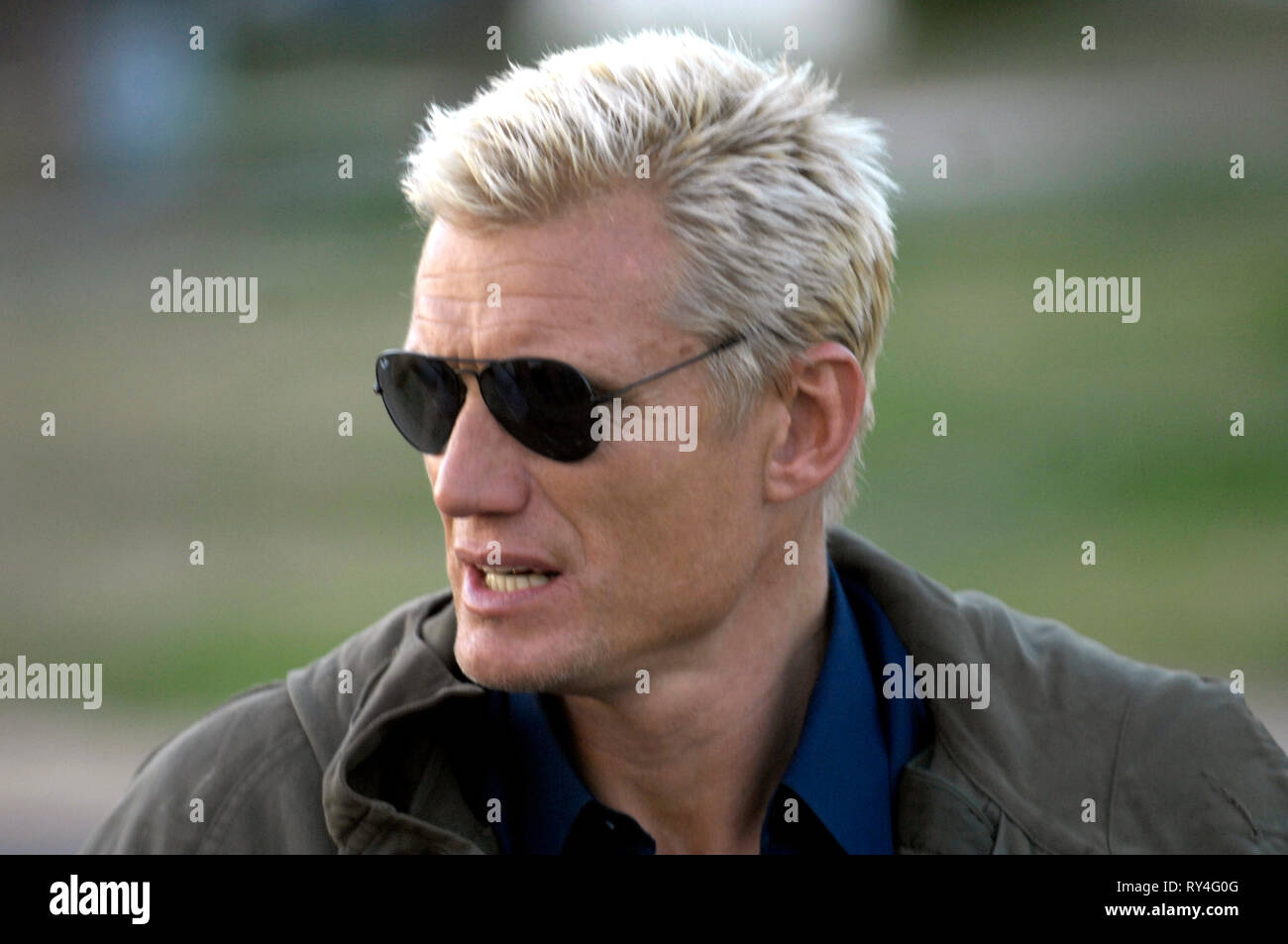DOLPH LUNDGREN, MISSIONARY MAN, 2007 - Stock Image