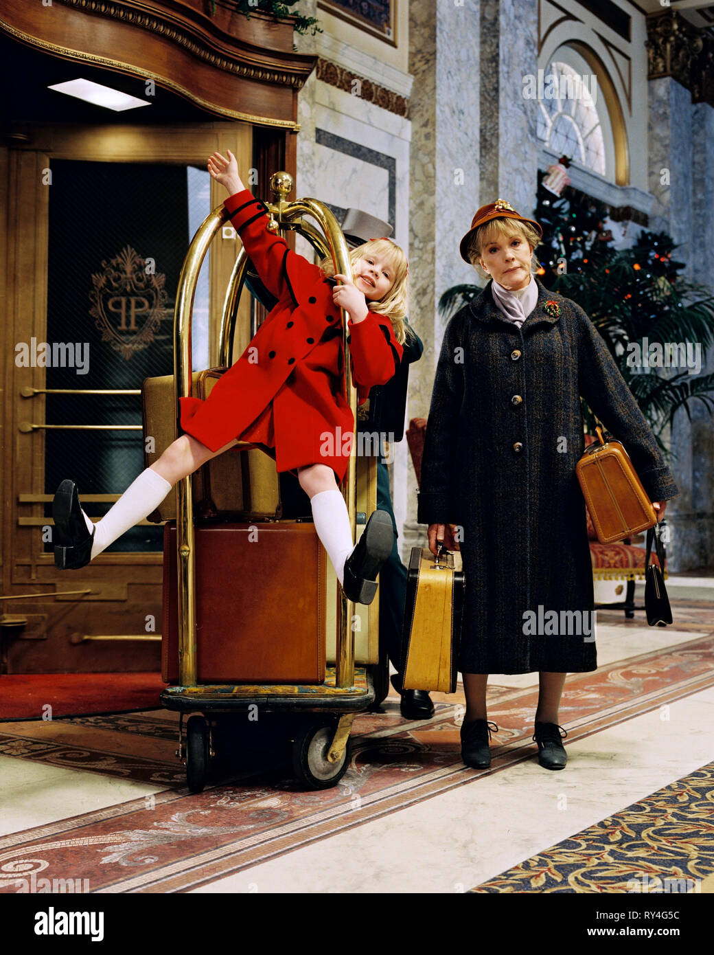 VASSILIEVA,ANDREWS, ELOISE AT CHRISTMASTIME, 2003 - Stock Image