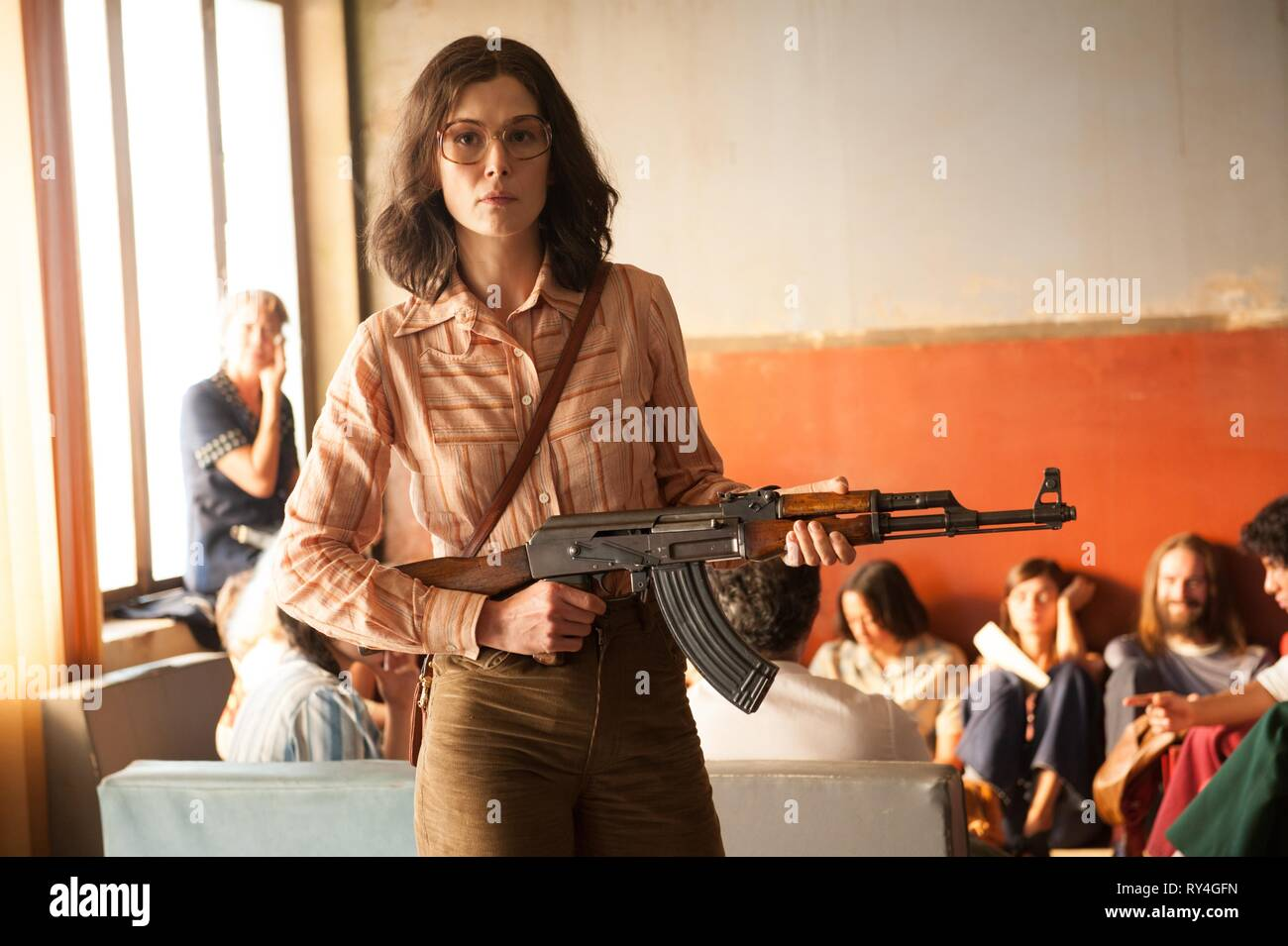 ROSAMUND PIKE, 7 DAYS IN ENTEBBE, 2018 - Stock Image