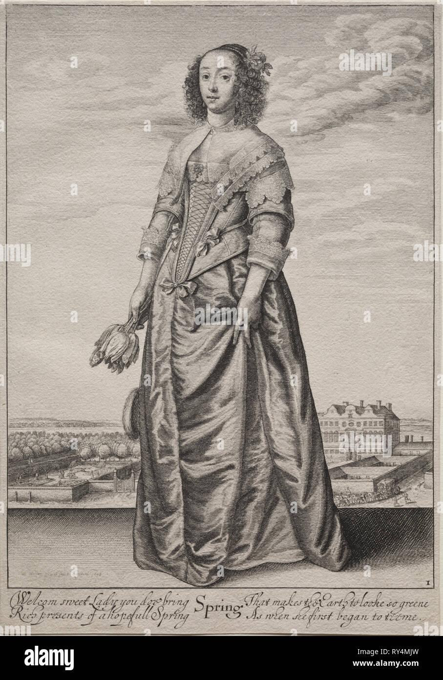 The Seasons, 1643-1644. Wenceslaus Hollar (Bohemian, 1607-1677)