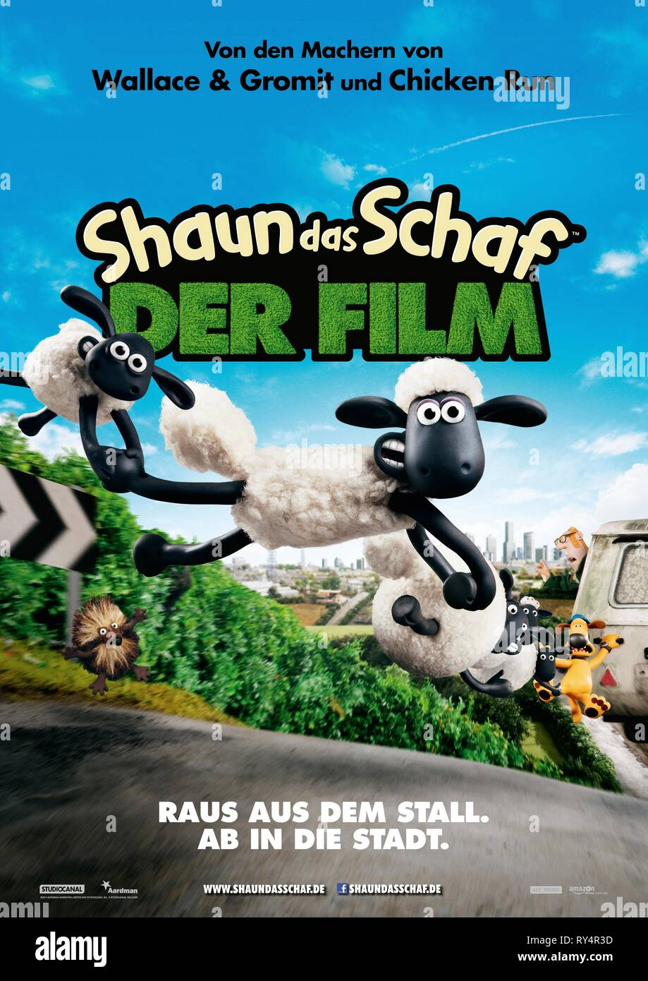 TIMMY,POSTER, SHAUN THE SHEEP MOVIE, 2015 - Stock Image
