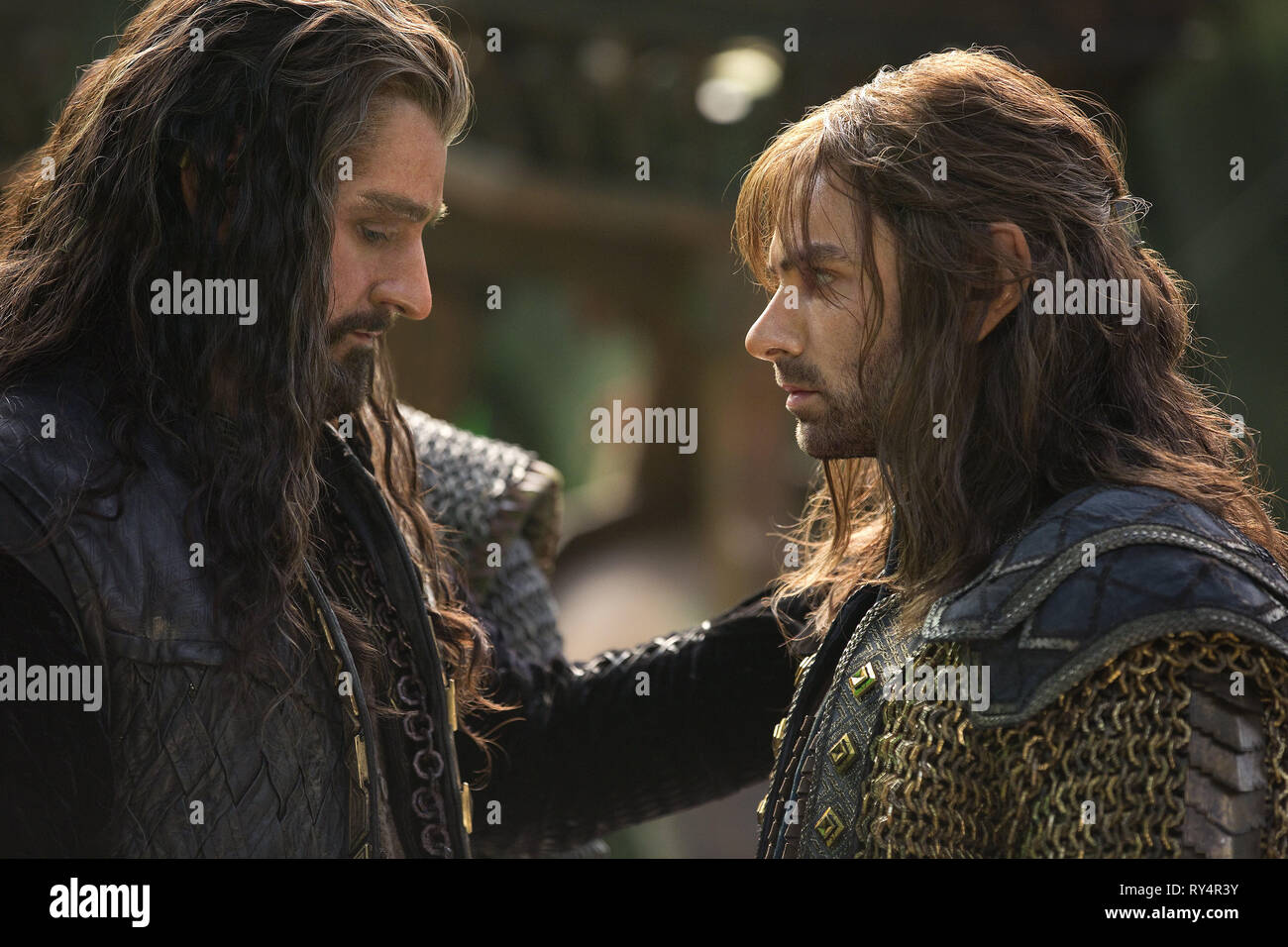 ARMITAGE,TURNER, THE HOBBIT: THE BATTLE OF THE FIVE ARMIES, 2014 - Stock Image