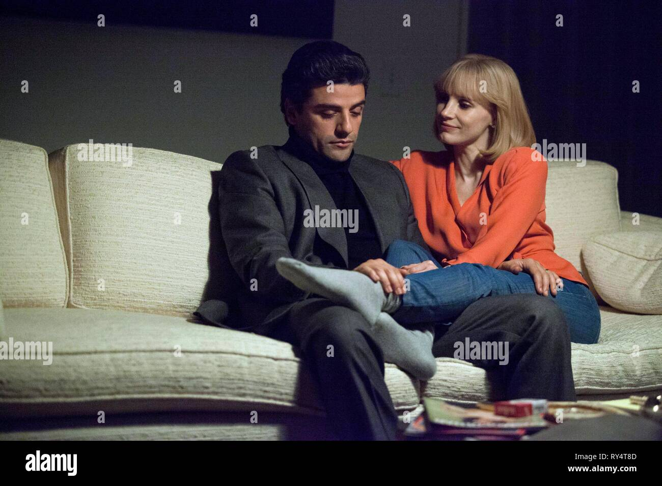 ISAAC,CHASTAIN, A MOST VIOLENT YEAR, 2014 - Stock Image